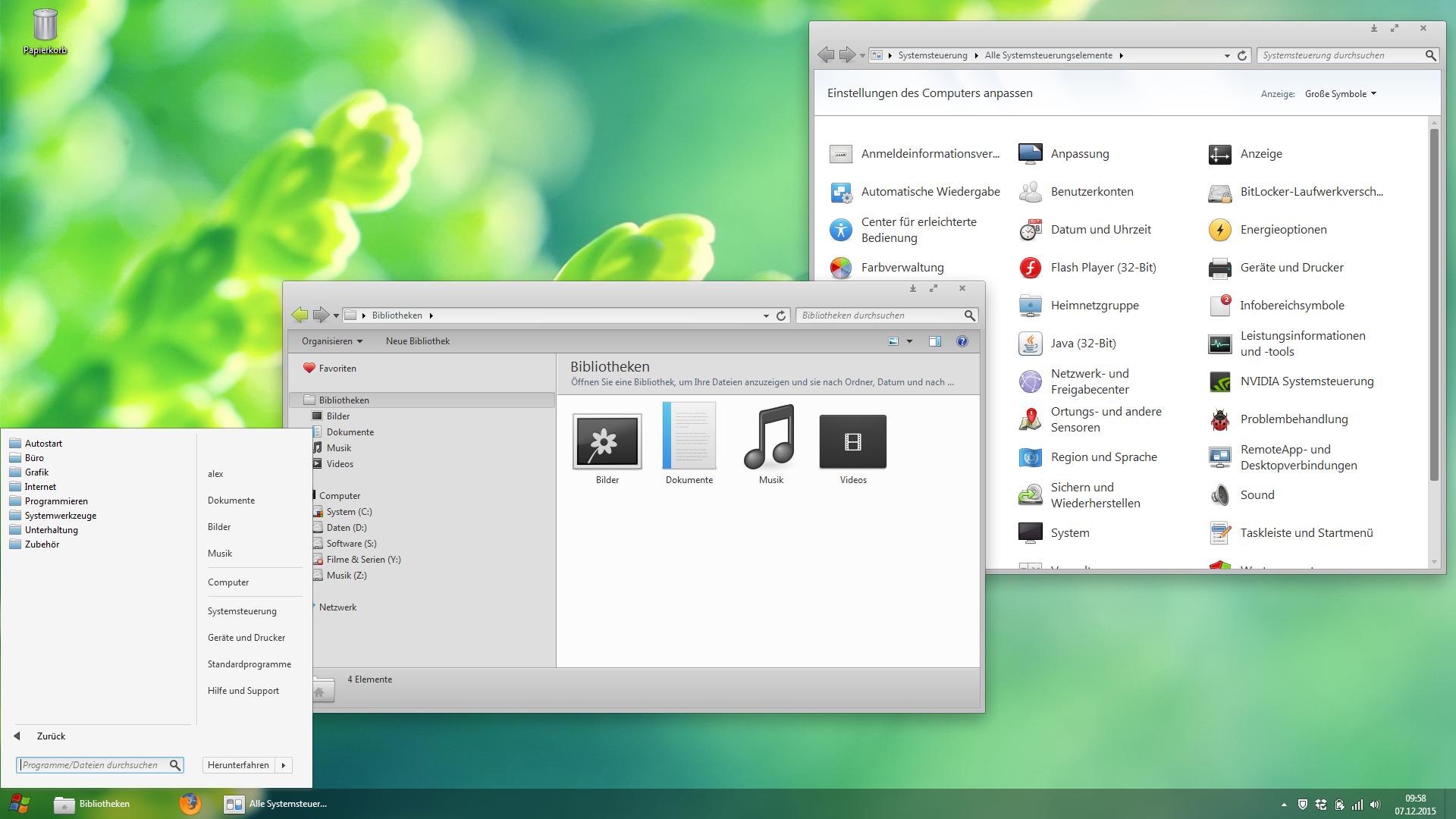 elementaryOS VS for Windows 7 by heebijeebi