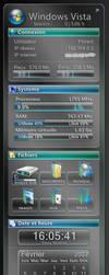 VistaRainmeterSidebar by Gavatx