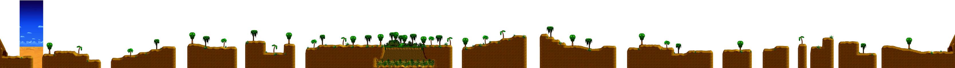 Desert oasis level