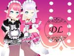 MMD- RoyalMaid Lu Download
