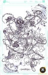 Spiderman VS Electro Filbars FCBD Exclusives by harveytolibao