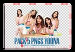 pack 5 pngs  Yoona