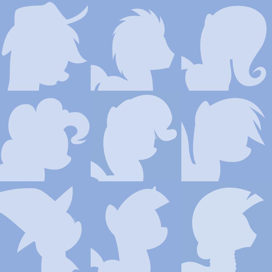 Youtube Default Pony Avatars by Lahirien on DeviantArt