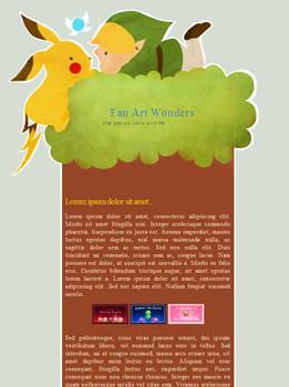 Fan Art Wonders CSS