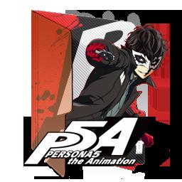 PERSONA5 the Animation Folder Icon by Edgina36