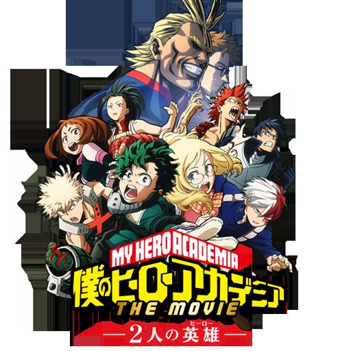 Boku no Hero Academia Movie Icon by Edgina36
