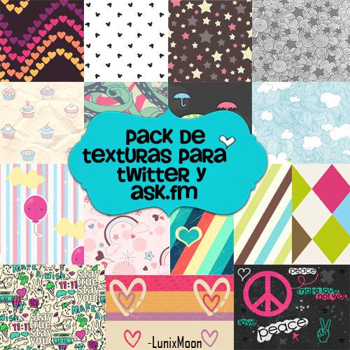 Fondos para Twitter y Ask.fm by LunixMoon