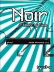 Noir Launchy Skin