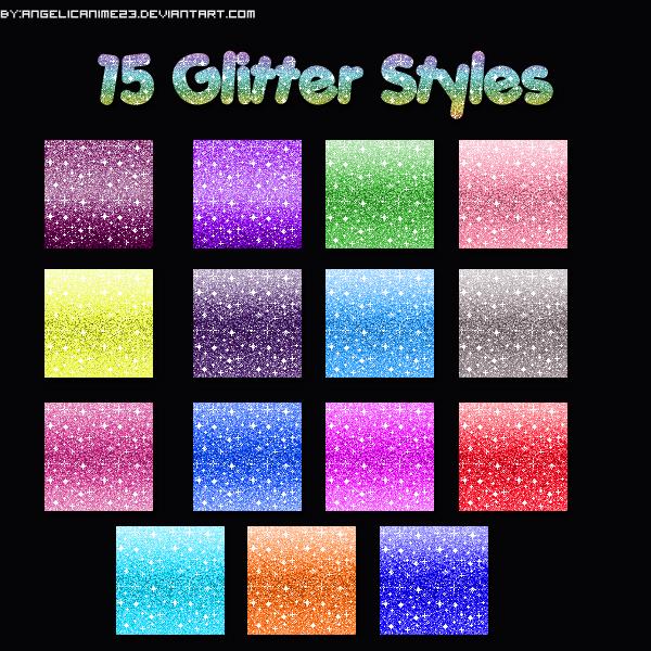 Glitter Styles