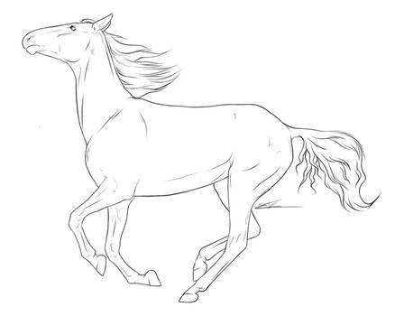 Running Horse pt VII