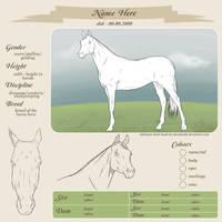 Reference Sheet - Arabian version