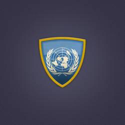 UN Shield Icon by Oscarvega