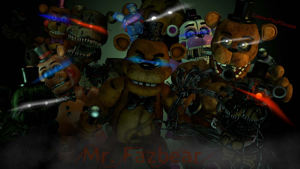 |:Mr. Fazbear:| by Creps-FNaFGamer