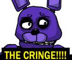 Bonnie cringing