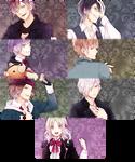 Diabolik Lovers PSP Wallpaper Set 1