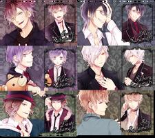 Diabolik Lovers PSP Wallpaper Set 3 by sindia64