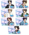 Hakuoki Sweet School Life PSP Wallpaper Set 2 by sindia64