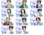 Hakuoki Sweet School Life PSP Wallpaper Set 3 by sindia64
