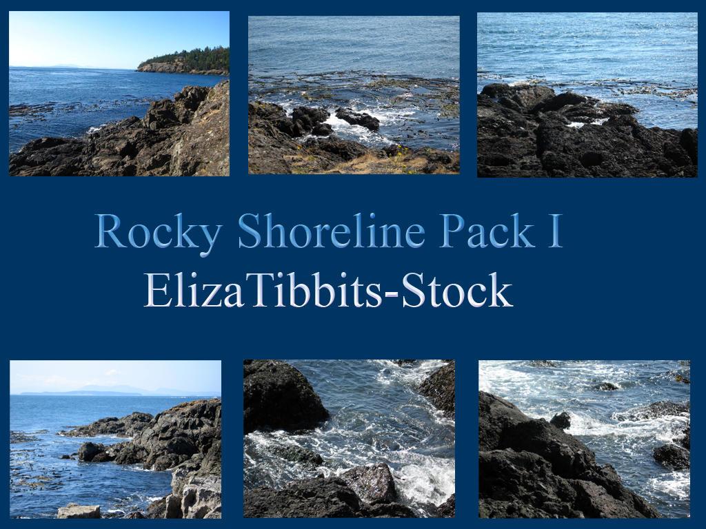 Rocky Shoreline Pack I by ElizaTibbits-Stock