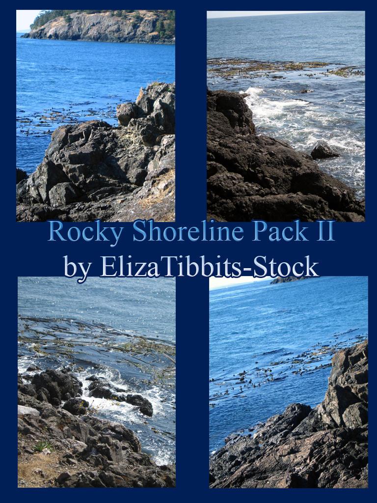 Rocky Shoreline Pack II by ElizaTibbits-Stock