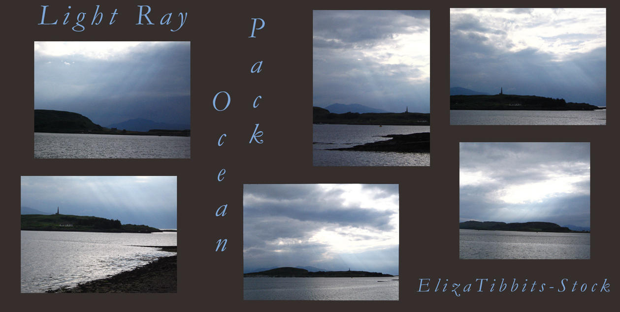 Light Ray Ocean Pack by ElizaTibbits-Stock