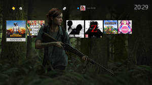Rainmeter PS4Style v.3 TLOU2 By JulioEVOID