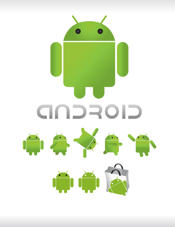 Android Vector Logo By Gl3nnx On Deviantart