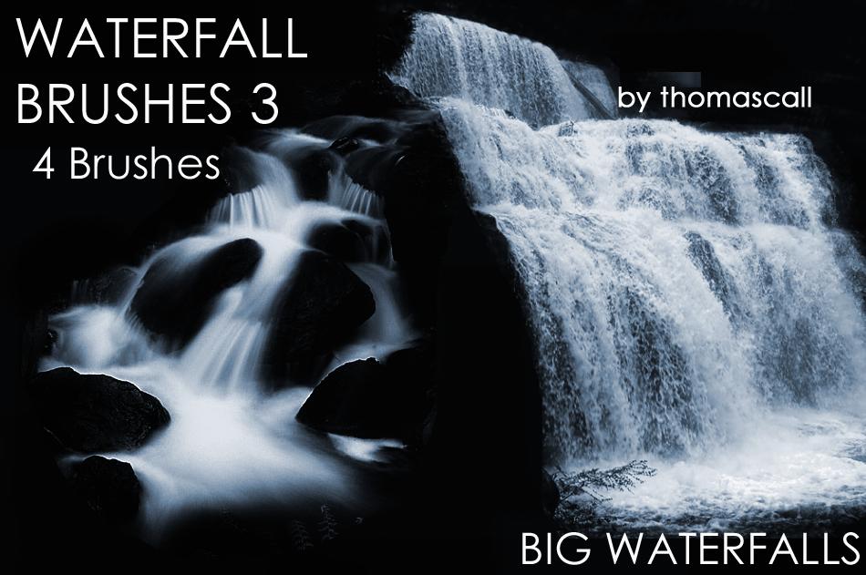 Big Waterfall Brushes