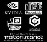 28 High Quality Logo Brushes
