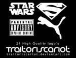 24 High Quality Logo Brushes