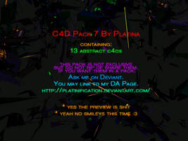 C4d Pack 7 By Platina by Platinification