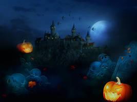 Halloween Wallpaper Pack by dianar87