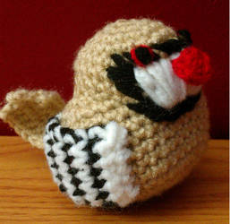 Chukar Partridge Crochet Pattern PDF