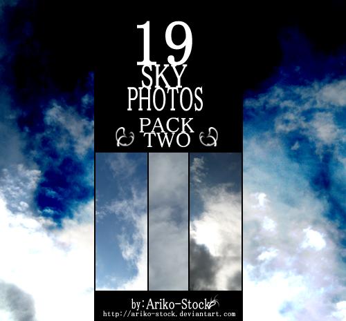 Sky Photo Bundle Pack 02 by Ariko-Stock