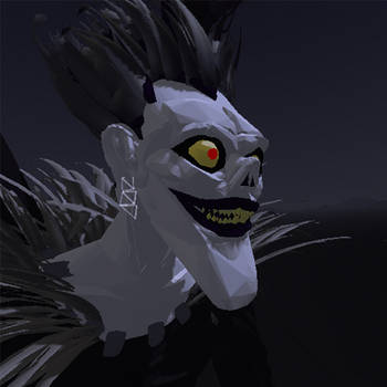 Ryuk Death Note by Ancharia
