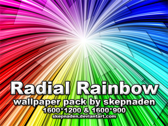 Radial Rainbow by skepnaden