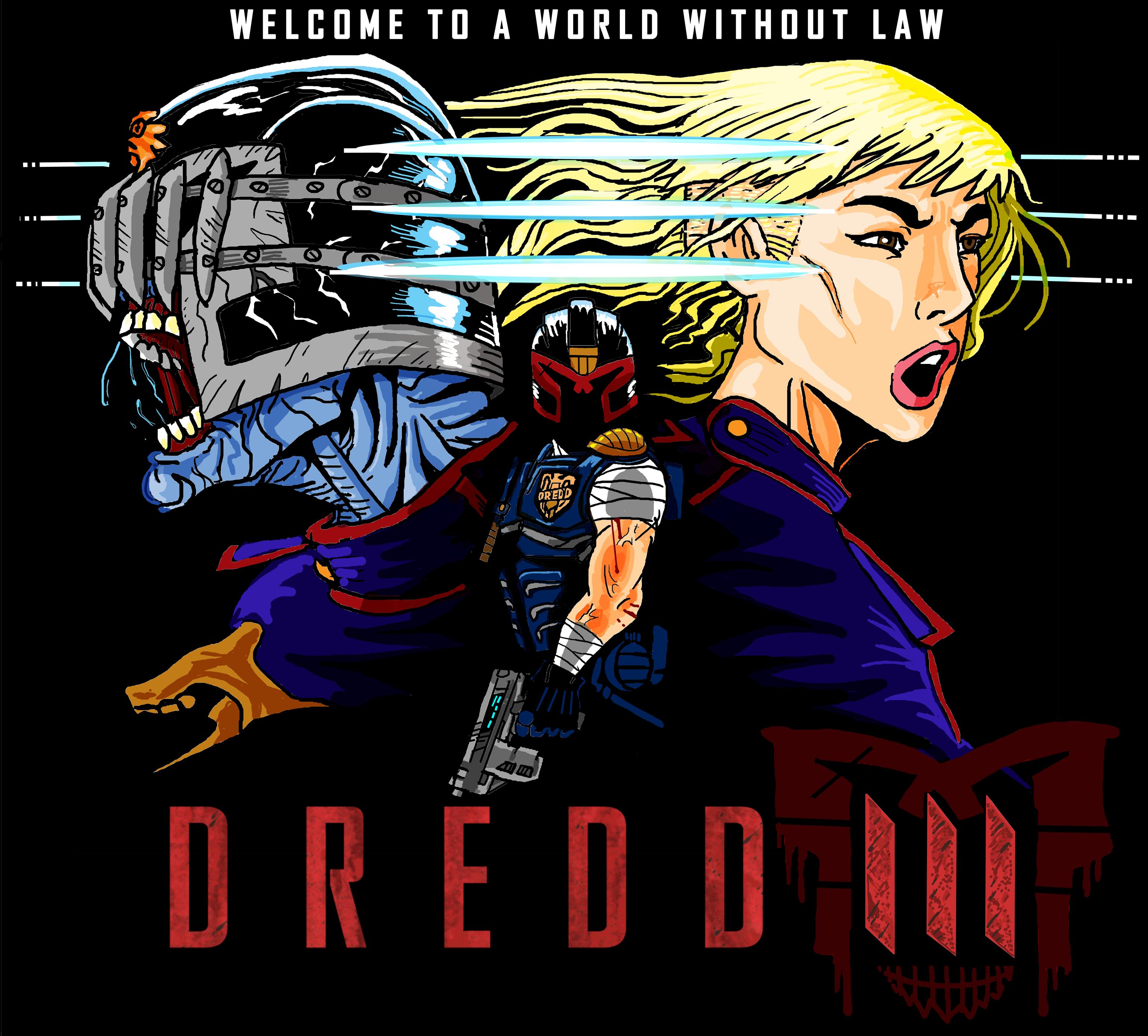 Dredd 3 Mega Fan Treatment By Jarol-Tilap On DeviantArt