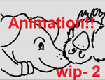 Inchworm animation ds- For the love of Ducks wip 2