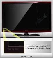 LCD UltraHD 350dpi Screen A
