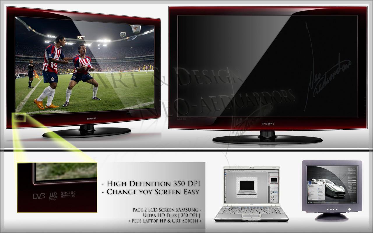 LCD UltraHD 350dpi PACKandPLUS by Neoaeduardors