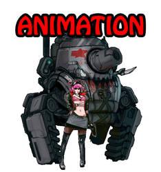 Moofart Tankgirl Anim by moofart-moof