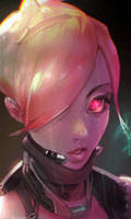 CyberGirl Face Anim