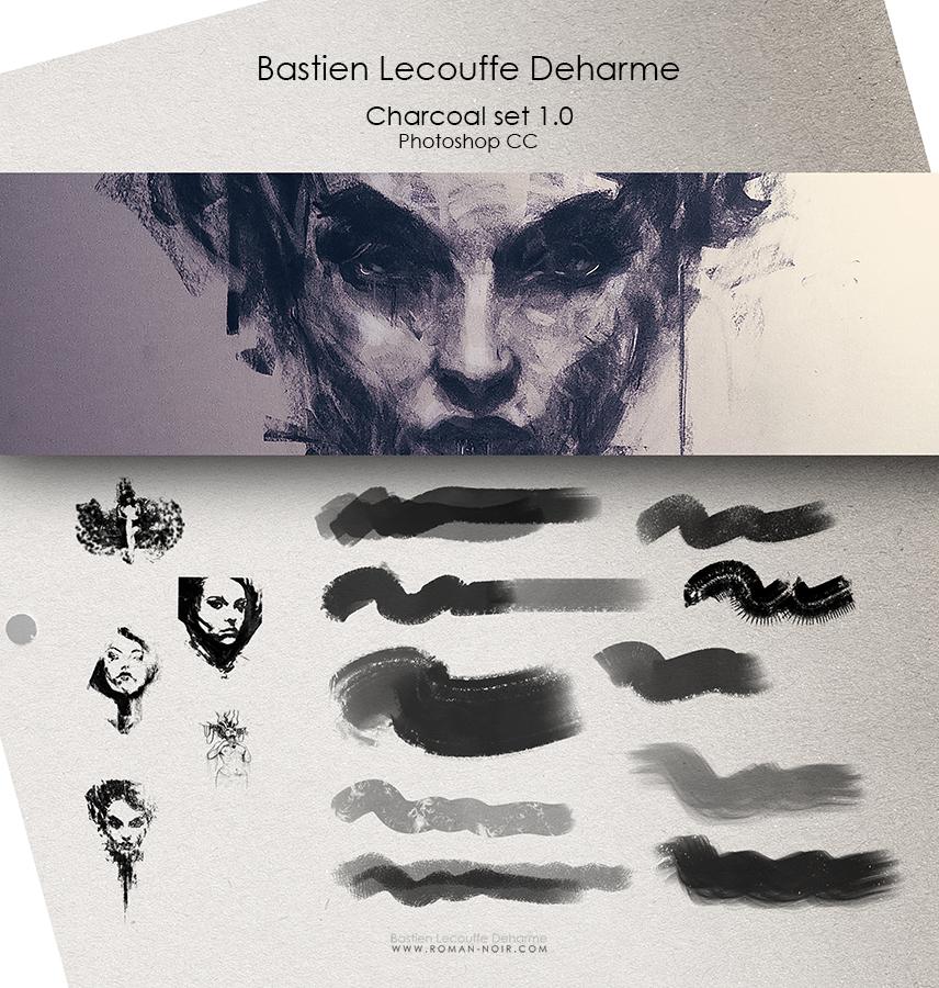 DEHARME / Charcoal set v1.0 / Photoshop CC