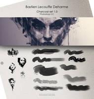 DEHARME / Charcoal set v1.0 / Photoshop CC by Deharme