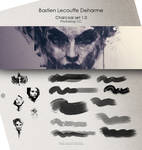 DEHARME / Charcoal set v1.0 / Photoshop CC by Deharme