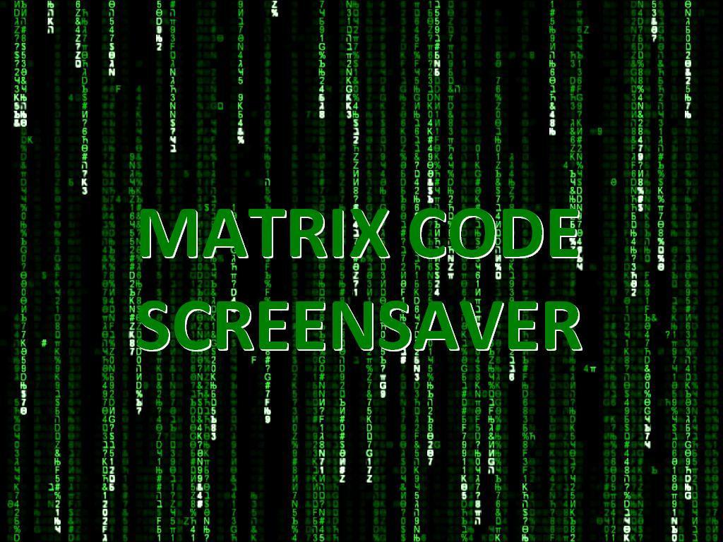 Matrix screen saver by wnuku