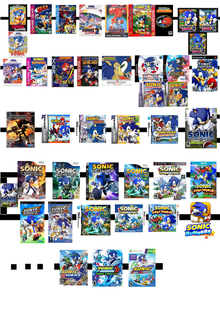 Sonic the Hedgehog Timeline 2009 - 2012 by WarriorIkki-toac50 on ...
