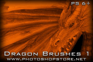 Dragon Brushes 1 PS 6+ by Mosh-X