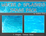 Water and Splashes Image Pack