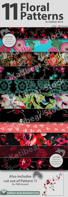 Katibear-Stock Floral Pattern Pack V2
